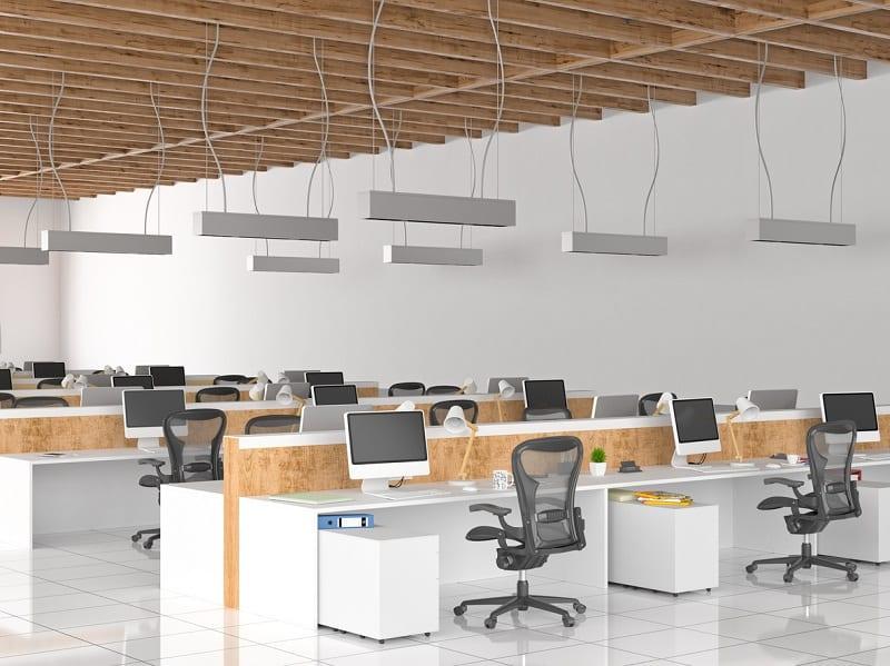 Modern open space office
