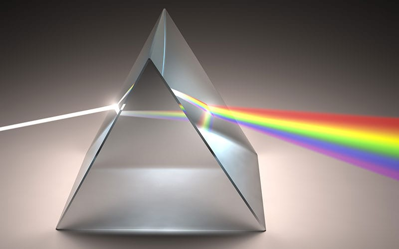 colour refraction